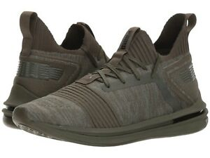 Men's Shoes PUMA Ignite Limitless Sr evoKNIT Sneakers 19048403 Forest Night