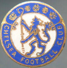 CHELSEA FC Vintage club crest type badge Stick pin In gilt 20mm Dia