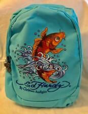 """BN Authentic Ed Hardy """"Koi Fish"""" Backpack"""