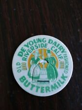 De Young Dairy Milk Bottle Cap Riverside, Calif