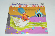 WALT DISNEY Presente les Contes de HANS CHRISTIAN ANDERSEN LP NEW SEALED French