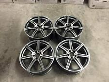 "19"" C63 AMG Style Wheels - Gun Metal Machined - Mercedes C Class W204 W205"