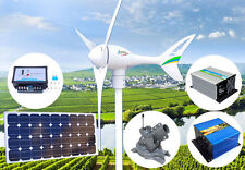 Apollo 550W 12V Wind Turbine Generator+Controller+Solar Panel+Mount+Dumpload