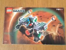 Lego Life On Mars 7311 Red Planet Cruiser from 2001 - instructions only