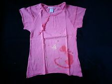 tee-shirt rose 6 ans ORCHESTRA - NEUF juste lavé