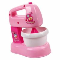 Children Kid Kitchen Electric Cake Chocolate Mixer Blender Pretend Play Toy L7O9