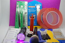 Olax Mobile Phone Opening, Screen Repair Kit, 21 LED Torch, Tapes, Glue, Tools