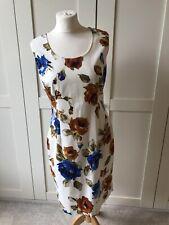 Dolce & Gabbana Sensational Floral Print Shift Dress 46/14