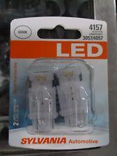 Sylvania 4157 Super Bright 6000k LED ( 2 Bulbs) also fits 3057 / 4057