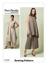 Vogue V1550 Paco Peralta PATTERN - Misses Tunics & Pants - Size 6-22 - BN