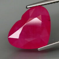 7.48 CTS EXCELENTE.RUBI  NATURAL - BIG Top Red Ruby Mozambique Natürlicher Rubin