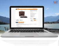 Ebayvorlage 2021 Verkaufsvorlage Responsive Template Design Orange + free Editor