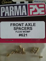 Parma 621 Front Axle Spacers Flexi & Womp - 6 Pairs
