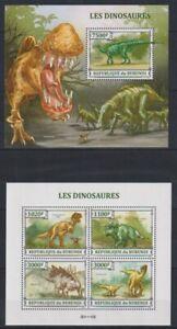 W443. Burundi - MNH - Animals - Prehistorics - 2013