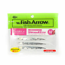 Fish Arrow Soft Lure Flash J Shirasu SW 3 Inch 5 Piece per pack #147 (3630)