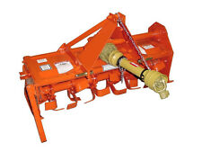 "48 "" Cat 1 Tiller 25 Hp Pto - Slip Clutch - 6 Tines Per Flange - Commercial Duty"