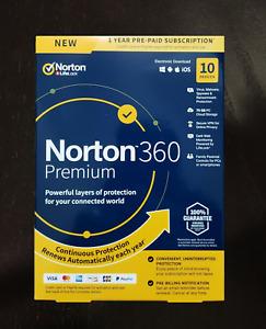 NORTON 360 PREMIUM 10PC  1JAHR  - ANTI VIRUS / INTERNET SECURITY