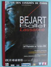 MAURICE BÉJART PROGRAMME PALAIS DES CONGRÈS 2001 19 SEPTEMBRE - 7 OCTOBRE A VOIR
