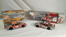 Lot 2 Cars Tony Stewart #20 Home Depot Lithium-Ion 2005 & 2004 Nextel Inaugural