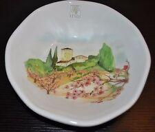 "NEW OPIFICIO ETICO TUSCANY Pasta/Soup BOWL ITALY Ceramic Handcrafted S/2 8.75"""