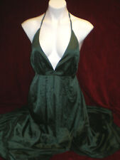 NWT - YIMEILI Women's Emerald Green Sexy Backless Long Cocktail Party Dress-Med