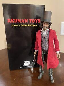 REDMAN TOYS 1/6 Gangs Of New York Bill The Butcher Figure RM023 Rainman - Used