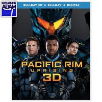 PACIFIC RIM UPRISING 3D (Blu-ray 3D + Blu-ray + Digital)