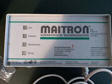 Maitron, Elektrostatische Wasserbehandlung