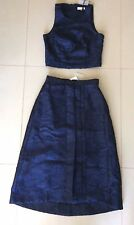 NEW & TAGS PORTMANS SIGNATURE TOP & MATCHING SKIRT SZ 8 RRP $200 FREE POST