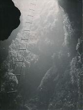 GANGES c. 1950 - Entrée du Gouffre  Trou du Saou  Hérault - DIV8561