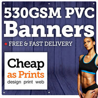 PVC Banner Printing | Personalised Indoor & Outdoor Advertising Vinyl Banners