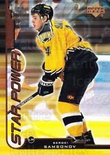 1999-00 Upper Deck #143 Sergei Samsonov