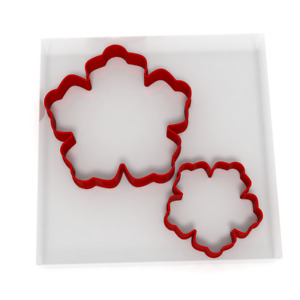 Flower 1 Cookie Cutter Set Of 2 Biscuit Dough Icing Shape Floral Garden Flowers