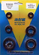 Engine Oil Seal Kit Yamaha PW80 PW 80 1983 to 2012 Mitaka  197