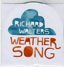 (AY166) Richard Walters, Weather Song - DJ CD