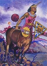 "Amazon Woman Series ""Unicorn""  Feminist Lesbian Pat Wiles Fantasy Print"