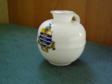 WORTHING Sussex Crest-Lien leche pueden Goss Crestado de China -
