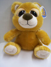 """Bright Eye Bear, Brown, 8"""", By Petting Zoo, New with Tag"""