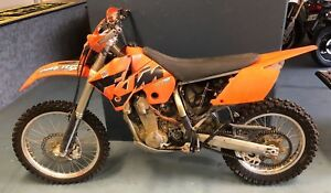 KTM 250 EXC F BARE FRMAE CHASSIS sx 125 300 350 400 450 525 WRECKING BIKE