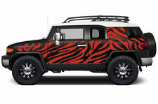Custom Vinyl Decal Safari Wrap Kit for Toyota FJ Cruiser Parts 07-14 Light Red