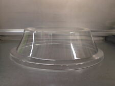 """PLATE COVER 12.5"""" INCH CLEAR PLASTIC ROUND CAKE DOME LID ACRYLIC VENTED BNIB"""