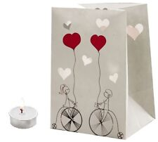 "CANDLE BAGS ""BICYCLE LOVERS"" - 5 Pack"