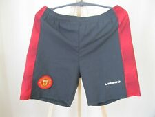 "Manchester United 1996/1997 Home Size 28""  Umbro shorts pants football soccer"