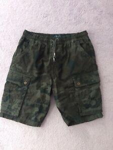 Next Boys Shorts Age 16  Camouflage
