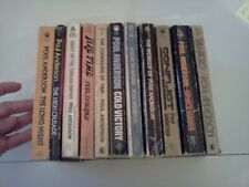 Poul Anderson - Lot of 11 Classic Science Fiction Books