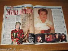 TV SORRISI E CANZONI=1998/39=CATHERINE DENEUVE=FRANCO BATTIATO=CLIPPING=FOTO=
