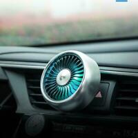 5V Car Fan Portable Vehicle Truck 360° Rotatable Auto Cooling Air Cooler H9M0