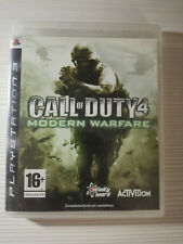 PS3 JUEGO CALL OF DUTY 4 MODERN WARFARE