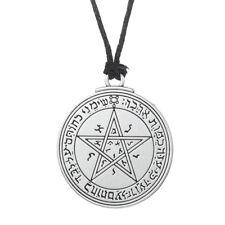 Talisman Vénus Key of Solomon Pentacle Seal Collier Pendentif en argent hermétique