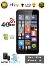 Brand New Microsoft Nokia Lumia 640 LTE 4G Dual-sim Black Unlocked 8GB Quadcore